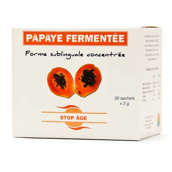Extrait de papaye fermentée concentrée
