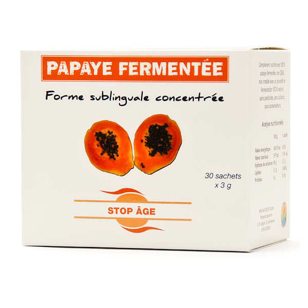 Fermented papaya extract