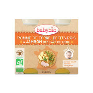 Baby Bio - Organic Vegetables and ham Baby food jar from 8 months