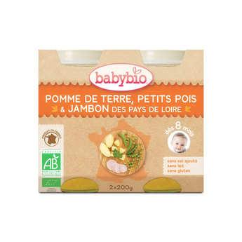 Baby Bio - Petits pots bio Légumes et jambon, dès 8 mois