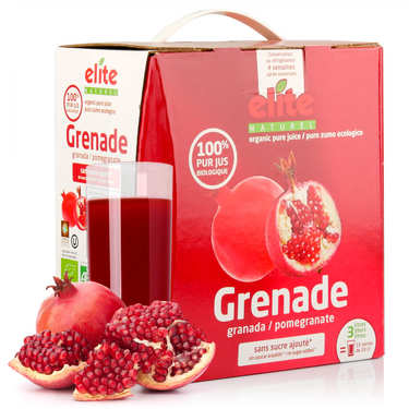 Pur jus de grenade bio en bag in box 3L