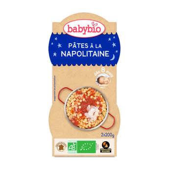 Baby Bio - Bols repas bio Pâtes à la Napolitaine, dès 8 mois
