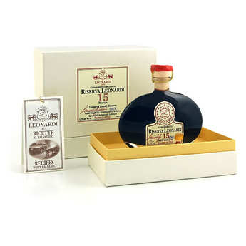 Vinaigrerie Leonardi - Balsamico Riserva Leonardi 15 Travasi - 15-year-old balsamic condiment