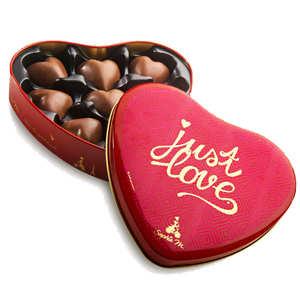 Tasty France - Coeur guimauve et chocolat Boite collector