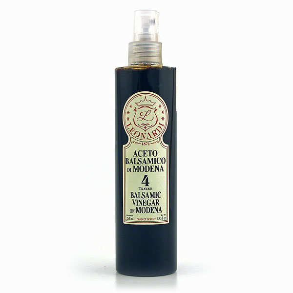 Spray-on 5-year-old balsamic vinegar from Modena
