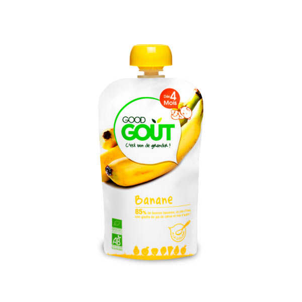 Gourde de banane bio - Dès 4 mois