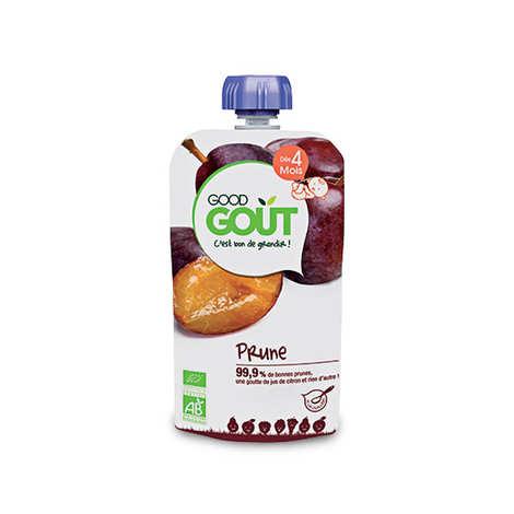 Good Goût - Gourde de prune bio - Dès 4 mois