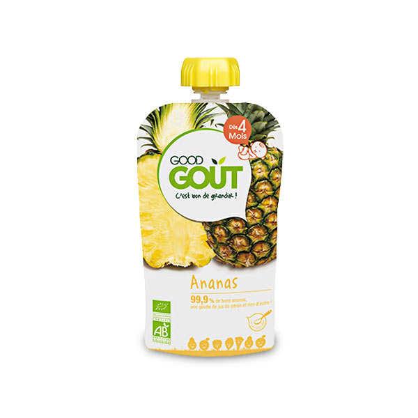 Gourde d'ananas bio - Dès 4 mois