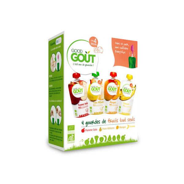 Kit premiers fruits bio - Dès 4 mois