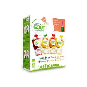 Good Goût - Kit premiers fruits bio - Dès 4 mois