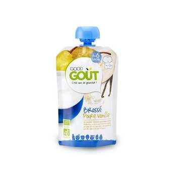 Good Goût - Brassé poire et vanille bio - Dès 6 mois