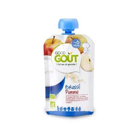 Good Goût - Brassé pomme bio - Dès 6 mois