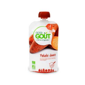 Good Goût - Patate douce - Petit plat bio dès 4 mois
