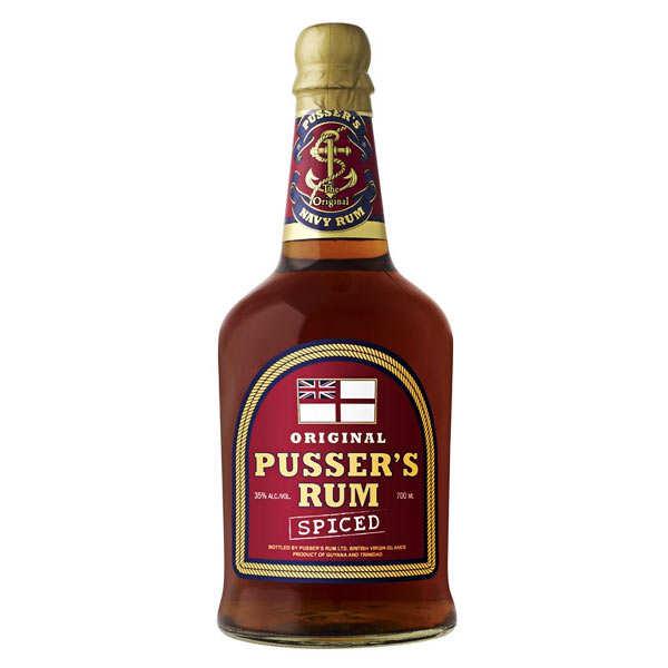 Pusser's spiced rum 35% - rhum épicé