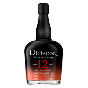 Dictador - Dictador rum 12 year old 40%