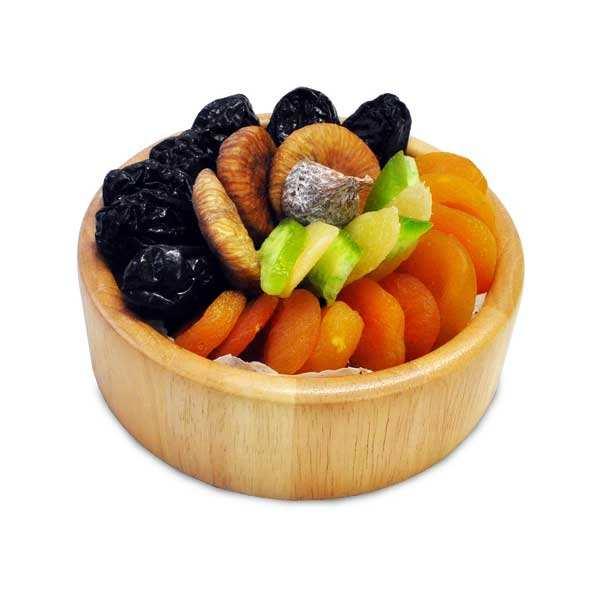 corbeille bois de fruits secs assortis les vergers d 39 escoute. Black Bedroom Furniture Sets. Home Design Ideas