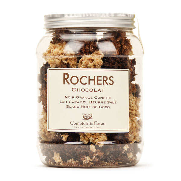Rocks Assorted chocolates Box - comptoir du cacao