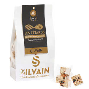 Nougat Silvain - White nougat with olives for aperitive