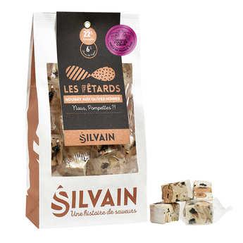Nougat Silvain - Nougat blanc aux olives sucré salé