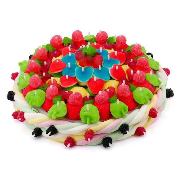 Maxi gâteau de bonbons