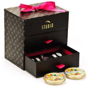Sturia - Coffret dégustation caviar Chado