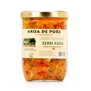 Onena - Axoa de porc au piment d'Espelette