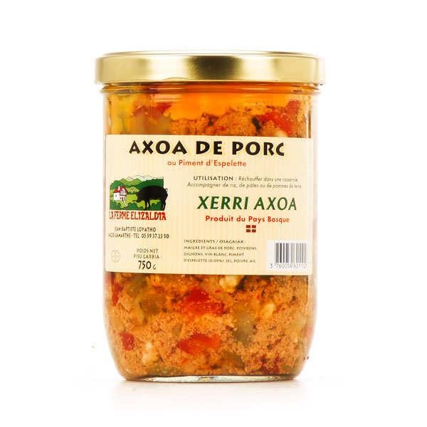 Pork Axoa with Espelette chilli