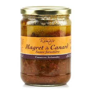 SARL Ramajo Foie Gras - Magret de canard sauce forestière du Gers