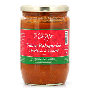 SARL Ramajo Foie Gras - Bolognese Sauce Duck Meat