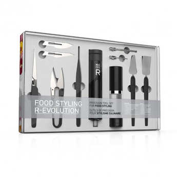 Saveurs MOLÉCULE-R - Precision tool set for food styling
