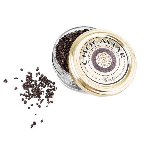 Caviar de chocolat noir 75%