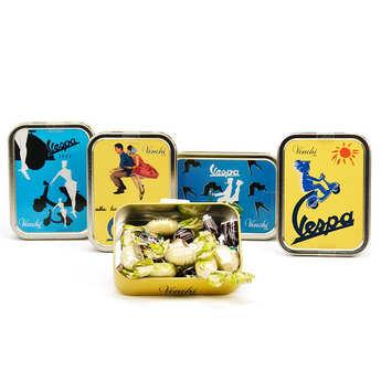 Venchi - Vespa Mini Metal Box with Venchi Chocolate