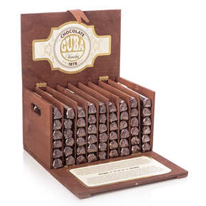 Venchi - Wooden box with 54 chocolate cigars