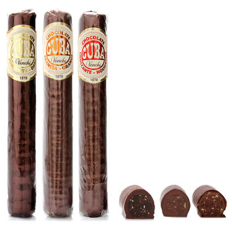 Venchi - Nougatine and Chocolate cigar