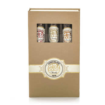 Venchi - Chocolate Cigars Wooden Box 3 flavours