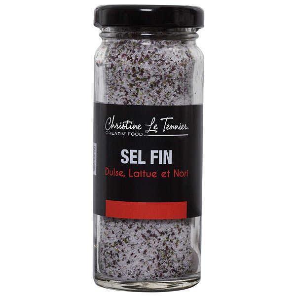 Salt flavoured with three seaweeds