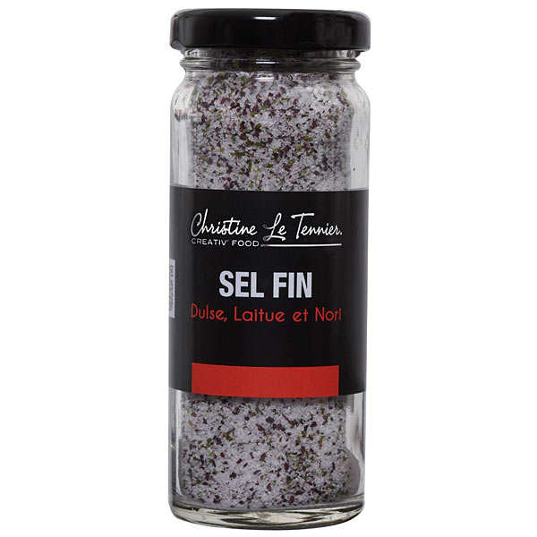 Salt flavoured with three seaweeds