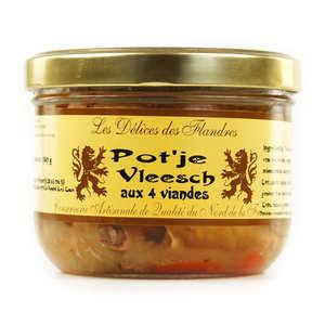 Les Cuisinés des Sources - Pot'je Vleesch - French White Meat Terrine