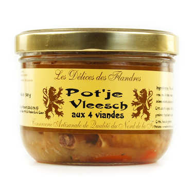 Pot'je Vleesch - French White Meat Terrine