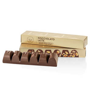 Venchi - Mini bloc de chocolat au lait et noisettes du Piémont