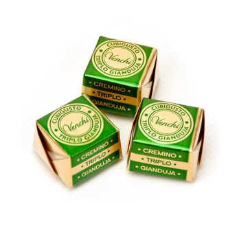 Venchi - Triple cubigusto gianduja - Cube de chocolat italien
