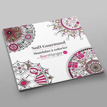 BienManger.com - Delightful Christmas colouring book
