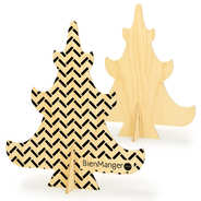 BienManger.com - Sapin en bois à décorer (30cm)