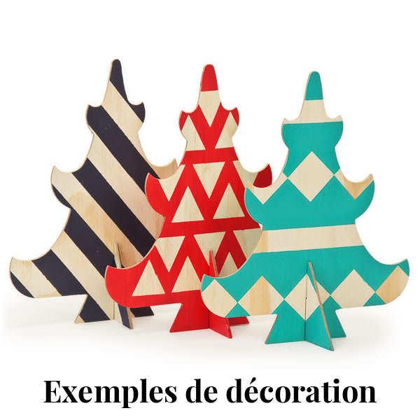 Sapin en bois à décorer (30cm)
