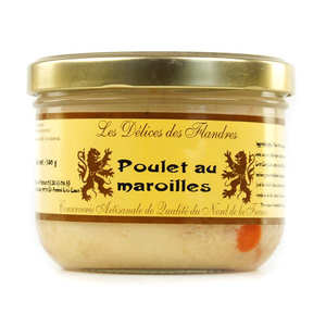 Les Cuisinés des Sources - Chicken with Maroilles Cheese