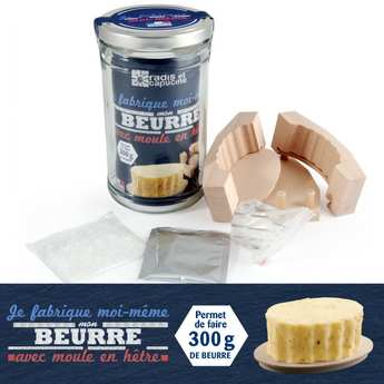 Radis et Capucine - Kit I make my own butter