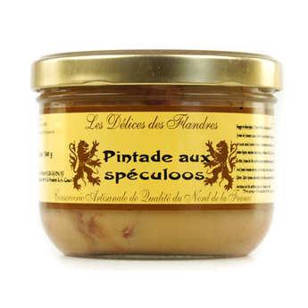 Les Cuisinés des Sources - Guinea Fowl with Spéculoos