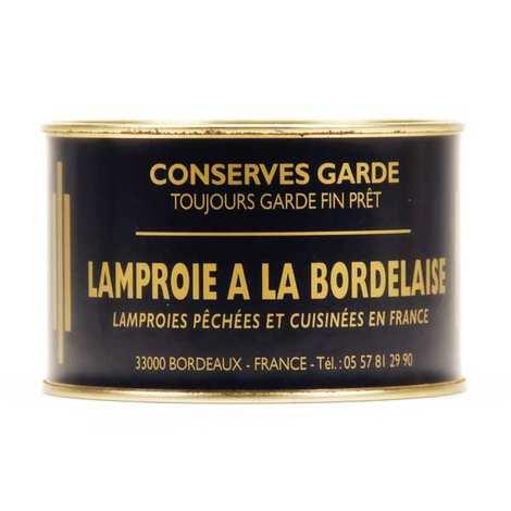 Conserves Garde - Lamproie à la bordelaise en conserve