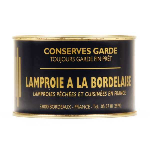 Bordelaise style Lamprey from Bordeaux