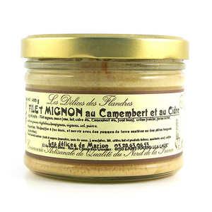 Les Cuisinés des Sources - Pork Tenderloin with Camembert and Cider
